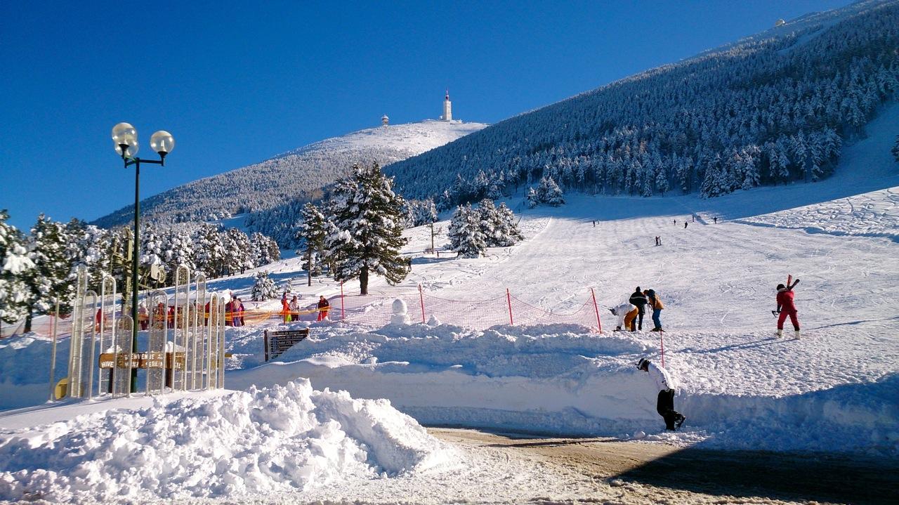 Mont-serein Et Station Du Ventoux - Love Spots