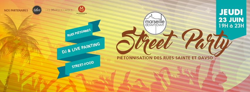 Soirée rues Marseille