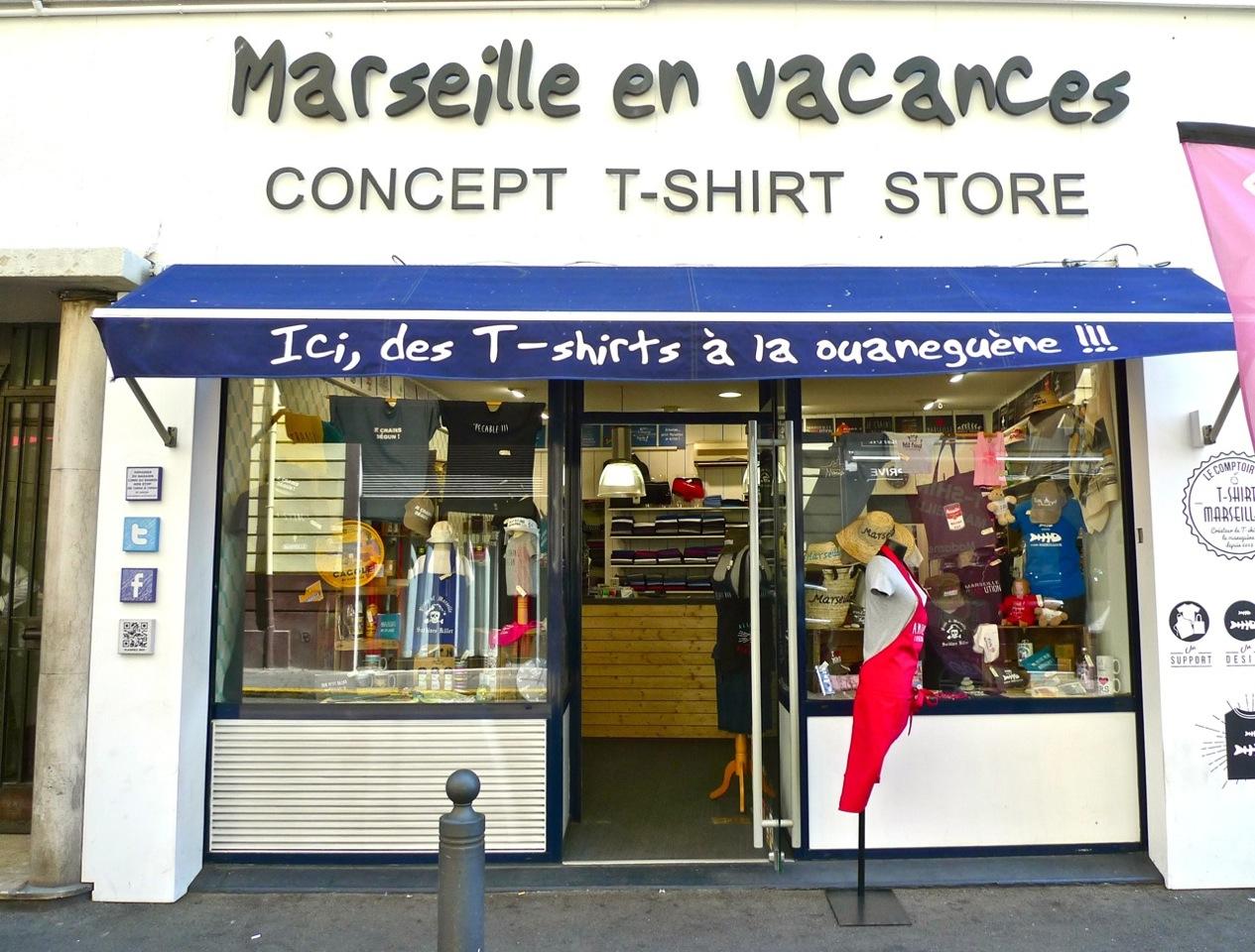 Tee shirt Marseille
