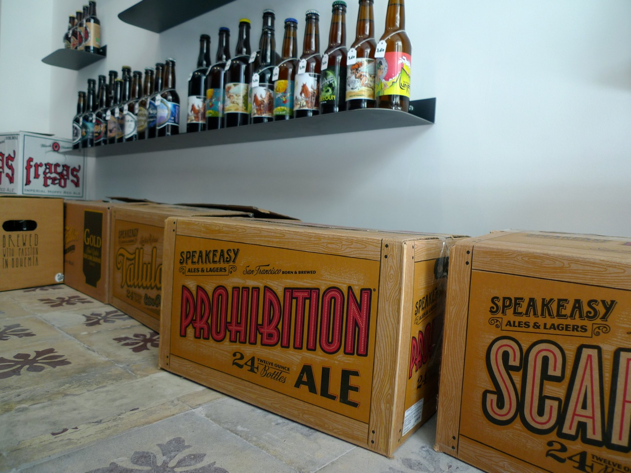 Beer cellar Marseille