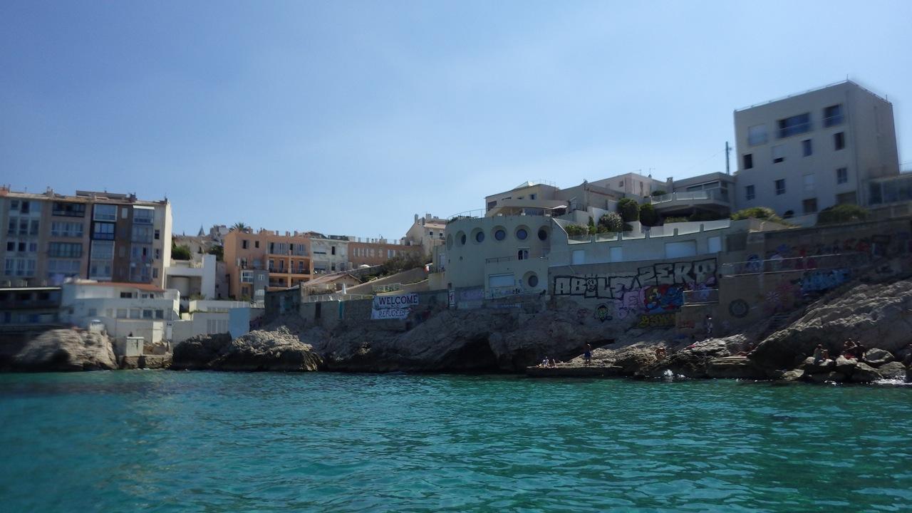 Balades paddle Marseille