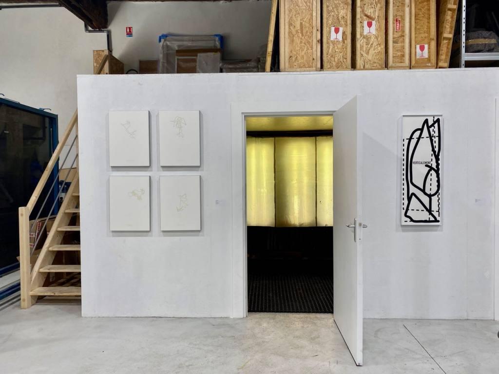 Tchikebe, atelier de sérigraphie à Marseille (cabine)