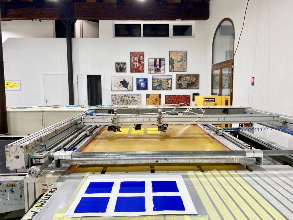 Tchikebe, atelier de sérigraphie à Marseille (machines)