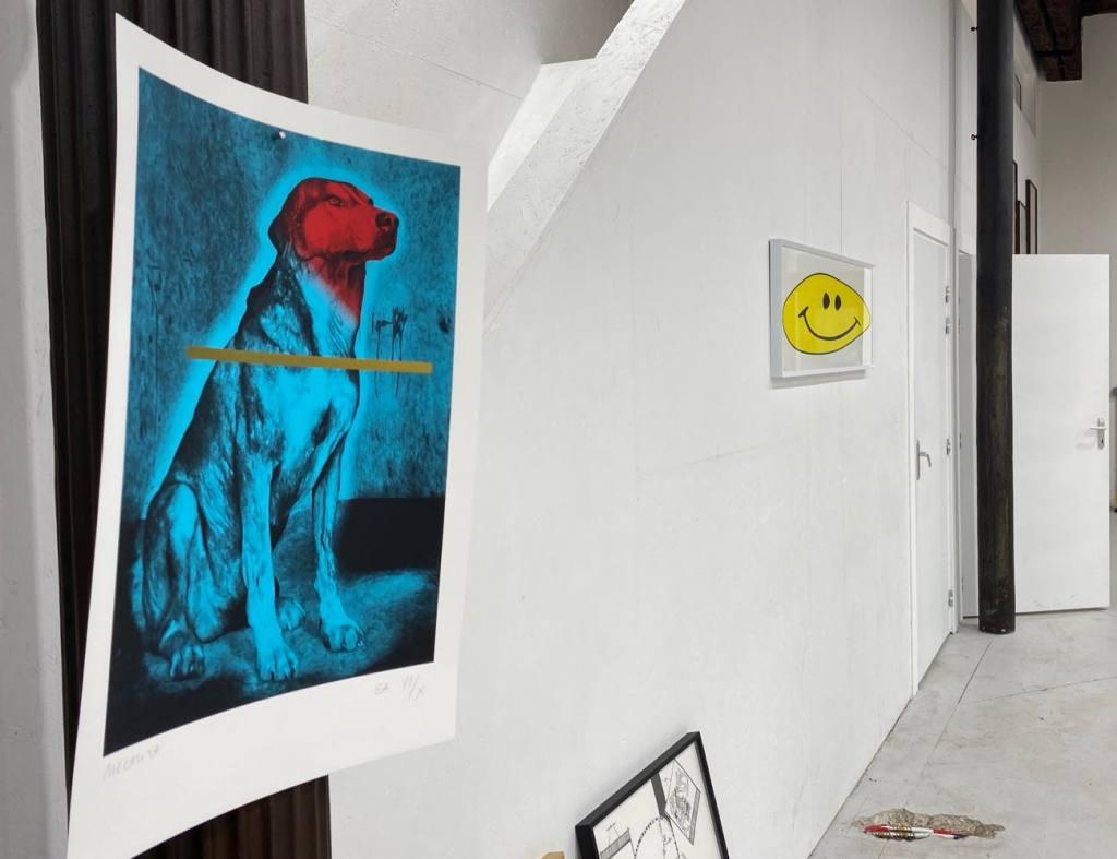 Tchikebe, atelier de sérigraphie à Marseille (tirage)
