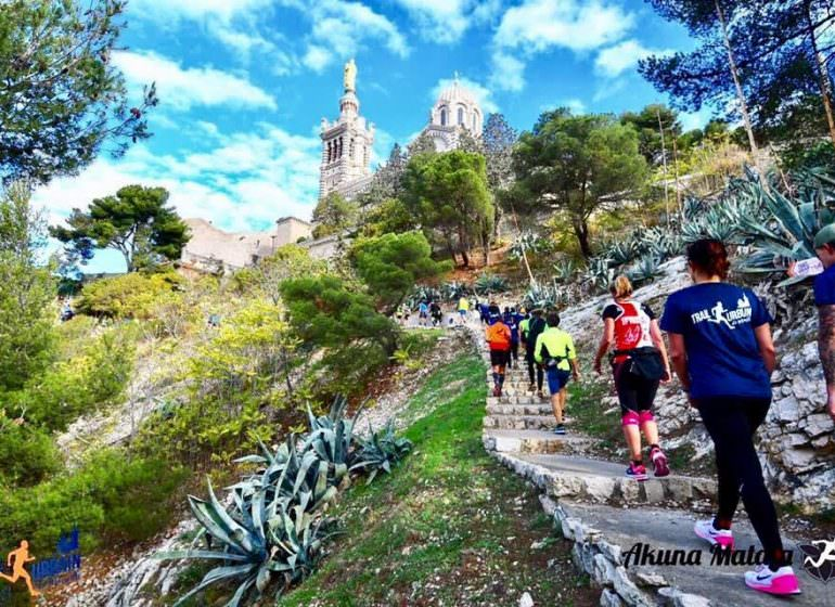 Course Marseille trail urbain