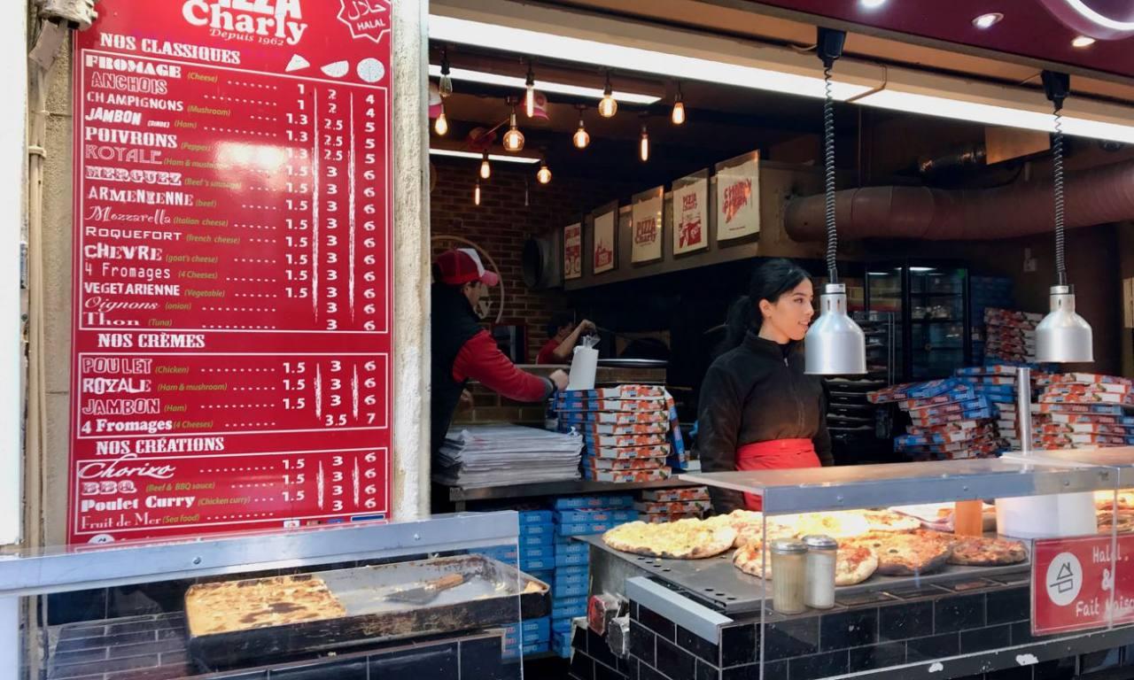 Pizzeria Marseille Charly comptoir