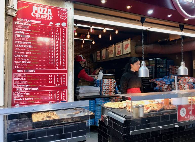 Pizzeria Marseille - Charly Pizza - interior