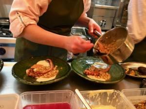 Yima bistronomie orientale à Noailles préparation