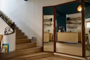 Pain Salvator boulangerie bio à Marseille escalier