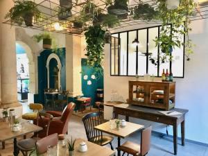 Black Bird Coffee shop à Marseille salle