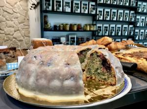 Black Bird Coffee shop à Marseille cake