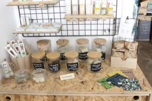 Vegan concept store Marseille products