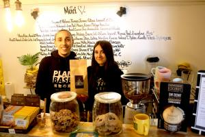 Vegan concept store Marseille food