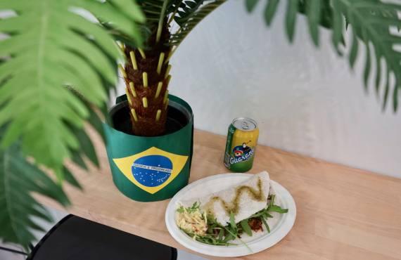 Farofa cuisine brésilienne à Marseille tapiocas