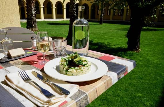 Les Jardins Du Cloître cuisine bistronomique à Marseille