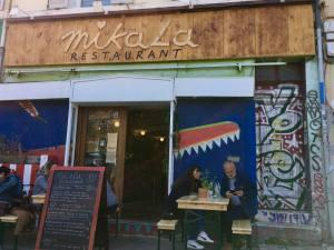 Mikala restaurant végétarien à Marseille devanture