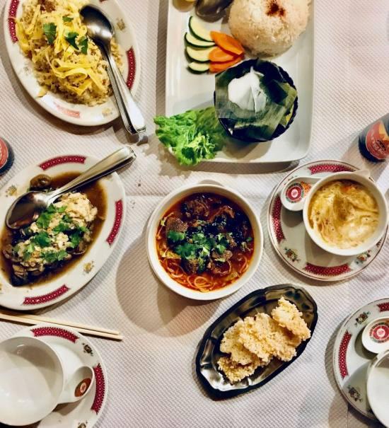 Apsara restaurant de cuisine cambodgienne à Marseille plats
