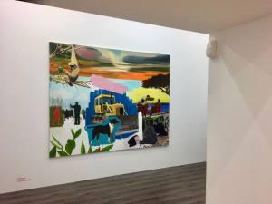 Le Cabinet d'Ulysse, Galerie d'art contemporain à Marseille peinture