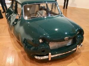 Erwin Wurm, exposition au Musée Cantini bubble car