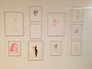 Erwin Wurm, exposition au Musée Cantini dessin