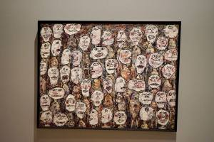 Un Barbare en Europe exposition de Jean Dubuffet au Mucem bonhommes