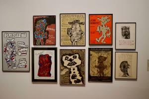 Un Barbare en Europe exposition de Jean Dubuffet au Mucem affiche