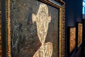 Un Barbare en Europe exposition de Jean Dubuffet au Mucem toile