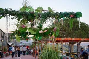 Le Baou, club de plein air à Marseille déco Miss Mu