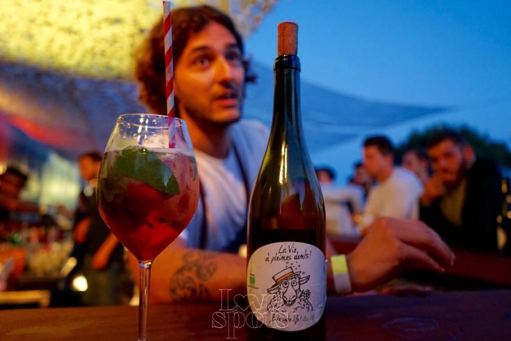 Le Baou, club de plein air à Marseille bar