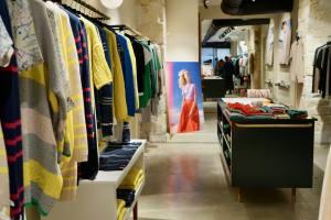 Maison Montagut, prêt à porter Marseille - shop interior