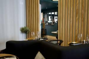 Signature, le restaurant de Coline Faulquier à Marseille intérieur