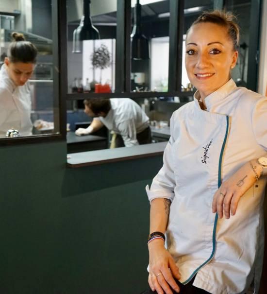 Signature, le restaurant de Coline Faulquier à Marseille che