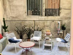116 rue Sainte, concept store mode, déco et beauté à Marseille (patio)