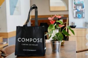 Compose, bar à salades à Marseille (sac)