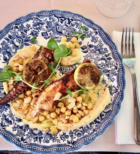 La Table d'Augustine, cuisine provençale à Marseille (poulpe)