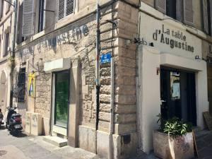 La Table d'Augustine, cuisine provençale à Marseille (facade)