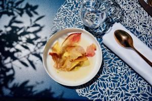 Les Bains, restaurant de bord de mer à Marseille (dessert)