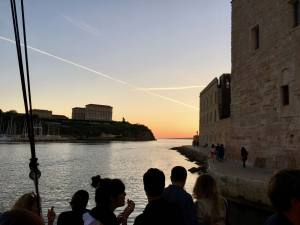 Noctilio, bar on a boat, Marseille (sunset)