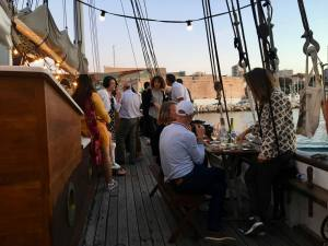 Noctilio, bar on a boat, Marseille (party)