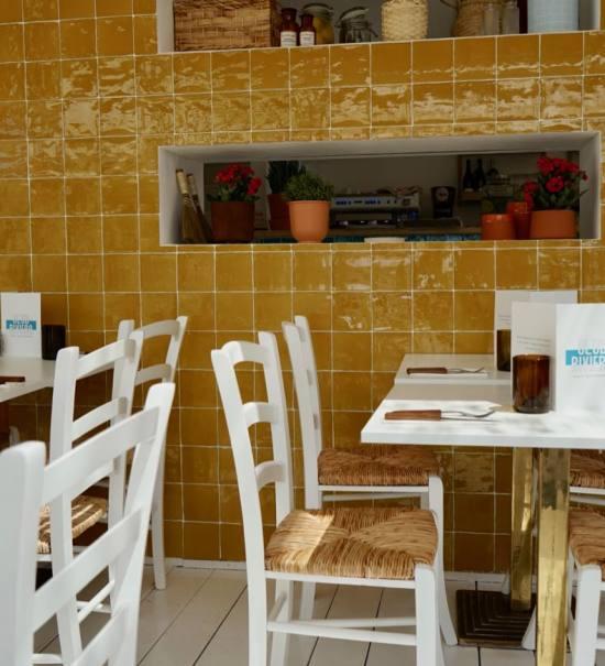 Club Riviera, cuisine méditerranéenne à Marseille (salle)