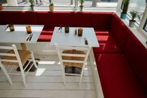 Club Riviera, cuisine méditerranéenne à Marseille (veranda)