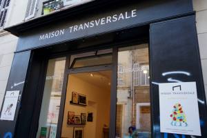 Maison Transversale, sport-themed galerie, boutique, and bookstore in Marseille (exterior)