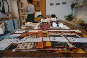 Atelier Kitoko, concept-store afro à Marseille (tissus wax)