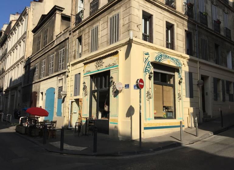 Balady, traiteur et épicerie orientale à Marseille (terrasse)