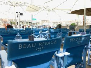 BeauRivage, Cafe-Bar-Restaurant, Vieux-Port, Marseille, Love-spots, seating