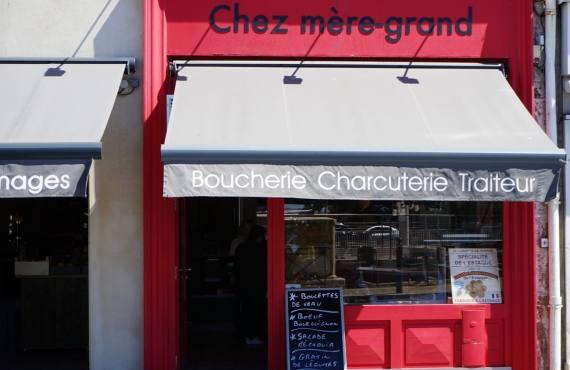 Chez Mère Grand boucherie et charcuterie à Marseille (devanture)
