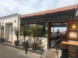 Le Grand bar des Goudes, fish restaurant Marseille (exterior)