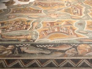 Le temps de l'île, exposition au Mucem à Marseille (mosaïques)