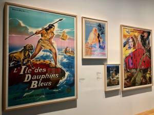 Le temps de l'île, exposition au Mucem à Marseille (affiches)