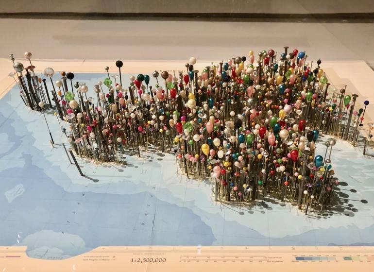 Le temps de l'île, exposition au Mucem à Marseille (cartes)
